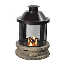 Eldorado Outdoor Fireplace by Outdoor Fireplaces Bond Mfg Heating