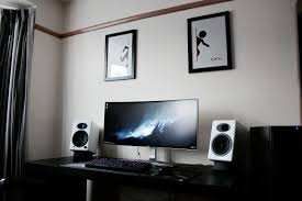 ultimate audio video setup battlestation 2016 bestgamesetups com pinterest gaming desk