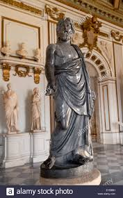 the statue of the greek god zeus musei capitolini capitoline