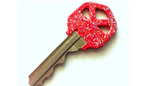 diy glitter nail polish keys youtube