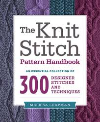 the knit stitch pattern handbook ebook by melissa leapman