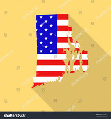 usa states map rhode island rhode island state map style usa stock vector 364796501