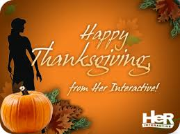 happy thanksgiving interactive