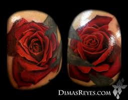 color realistic rose tattoos by dimas reyes tattoonow