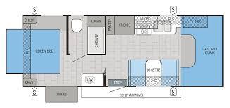 itasca motorhome floor plans