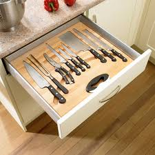 kitchen knife storage ideas kitchen drawer organization design your drawers so everything