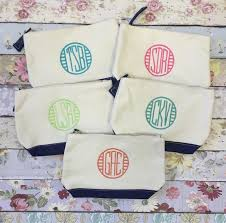 bridesmaid bags five bridesmaid bags bridesmaid make up bags monogrammed bag