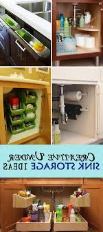 Bathroom Sink Storage Solutions Bathroom Creative Sink Storage Ideas Hative In The