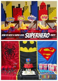 lego batman and superman superhero birthday party invitation