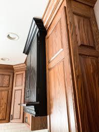 how can i make my oak kitchen cabinets look modern how to make an oak kitchen cool again copper corners