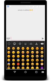 keyboard emojis for android how to add smilies or emojis in edittext in android nk droid