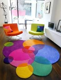 Modern Colorful Rugs Funky Area Rugs Bubbles Contemporary Modern Area Rugs By Winner