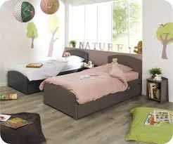 chambre fille et taupe lit couleur taupe beautiful lit enfant nature taupe x cm with lit