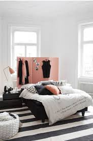 chambre pour fille ado une chambre noir et blanc pour ado fille