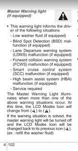 kia warning lights symbols indicator light can t find in manual kia forum