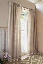 Lined Linen Drapery Panels Contemporary 100 Linen Curtains Drapes U0026 Valances Ebay