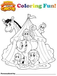tadmor shrine circus canton ohio and akron ohio u2014 coloring pages