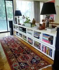 Open Bookshelf Room Divider Remodelaholic 29 Creative Diy Room Dividers For Open Space Plans