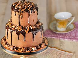 party cake 2 tier party cake towering affair cake bakingo