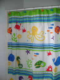 Fun Kids Bathroom - shower curtain for kids bathroom decor bathroom inspiration