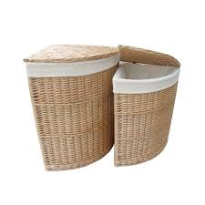 Laundry Hamper Double by Decorating Laundry Room Baskets Wicker Laundry Hamper Divided