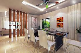 wall partition design in between living u0026 dining dining area