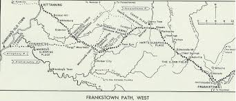 Map Of Pennsylvania Towns by As With The Frankstown Path East Map This Map Shows Many Places