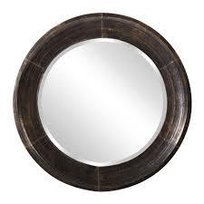 howard elliott 30 in x 30 in montego metal round mirror 37140