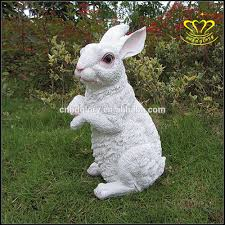 selling garden decor size resin rabbit statue buy large