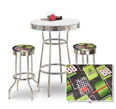 bar stool table set of 2 the furniture cove 3 piece chrome bar table set with 2 chrome dale