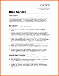 Resume Career Objective 5 Career Objectives Template Cashier Resumes
