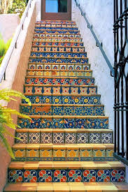 tiled stairs interior design pinterest tile stairs