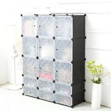 Jewelry Chest Armoire Outdoor Armoire Storage Diy Environmental Plastic Wardrobe