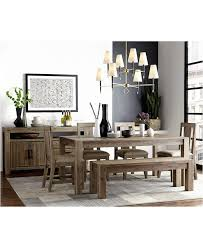 dining room sets with bench dining room table set with bench macys round dining table jcpenney