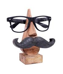Home Decorator Stores Amazon Com Witty Hand Carved Wooden Eyeglass Spectacle Holder