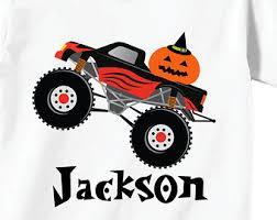 monster truck tshirt etsy