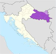 Map Of Italy And Croatia by Slavonia Wikipedia