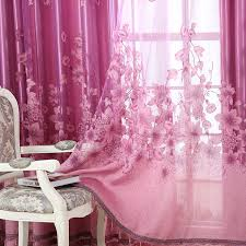 Sale Ready Made Curtains Aliexpress Com Buy Window Treatment Luxury Curtains Tulle Beads