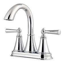 Pfister Faucets Warranty Polished Chrome Saxton Centerset Bath Faucet Lg48 Gl0c Pfister