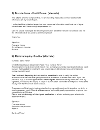 Letter Of Credit Validity credit dispute letters