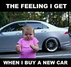 Hybrid Car Meme - thought i saw one in driveway before left and then again in garage
