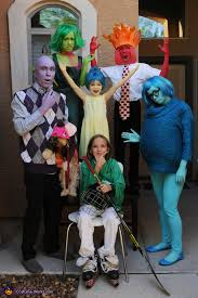 inside out costumes inside out family costume