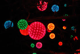 christmas light balls for trees all sizes light balls hanging in a tree flickr photo sharing