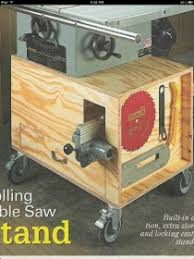 diy table saw stand building a table saw stand woodworking talk woodworkers forum