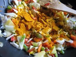 cuisine indienne vegetarienne ottoki wok cuisine indienne végétarienne légumes mélangés
