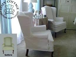 wing chair slipcover small wing chair slipcover slip cover wing chair s slipcover wing