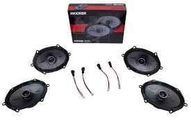 Ford F150 Truck 2004 - 2004 2014 f150 kicker ks68 6x8 door speaker upgrade kit crewcab