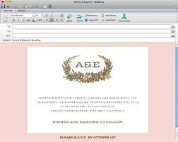email wedding invitations diy wedding wedding invitation email e m papers