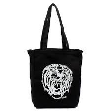 sailor jerry tote bag tiger black merch2rock alternative