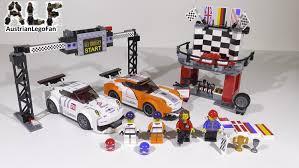 lego porsche box lego speed champions 75912 porsche 911 gt finish line ziellinie